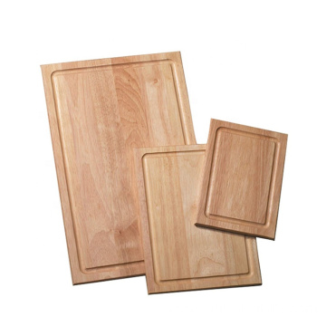 3-Piece Wood Cutting Board Set with Drip Groove